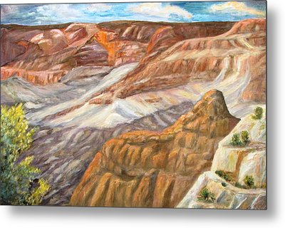 Grand Canyon Metal Print by Caroline Owen-Doar