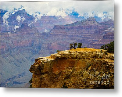 Grand Canyon Clearing Storm Metal Print