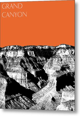 Grand Canyon - Coral Metal Print by DB Artist