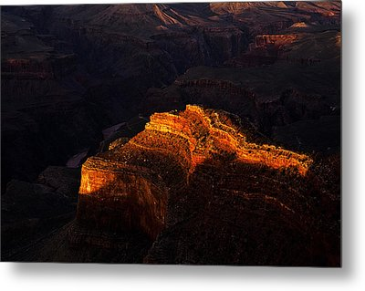 Grand Canyon Evening Metal Print by Andrew Soundarajan