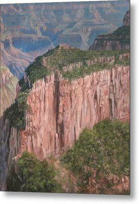 Grand Canyon North Rim Metal Print by David Stribbling