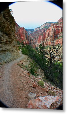 Metal Print featuring the photograph Grand Canyon Or Bust by Jon Emery