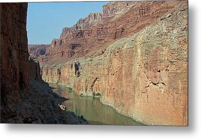 Metal Print featuring the photograph Grand Canyon Shadows by Tony Mathews