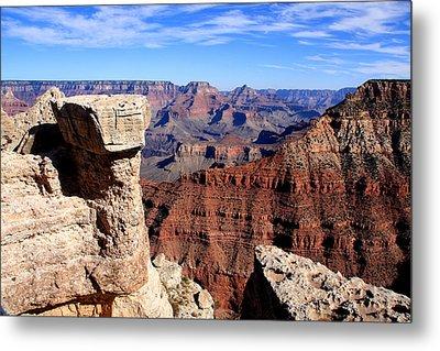 Grand Canyon - South Rim View Metal Print by Aidan Moran