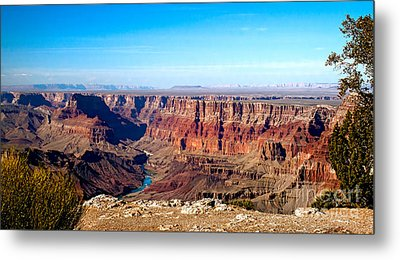 Grand Canyon Vast View Metal Print by Robert Bales