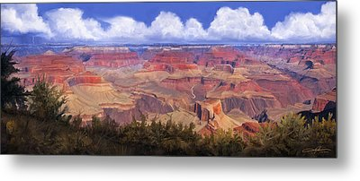 Grand Canyon View Metal Print by Dale Jackson