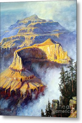 Grand Canyon View Metal Print by Lee Piper