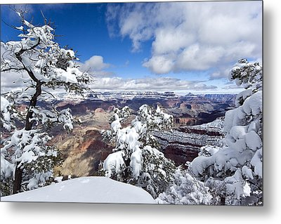 Grand Canyon Winter - 1 Metal Print