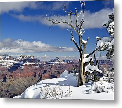 Grand Canyon Winter -2 Metal Print
