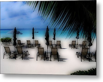 Metal Print featuring the photograph Grand Cayman Dreamscape by Caroline Stella