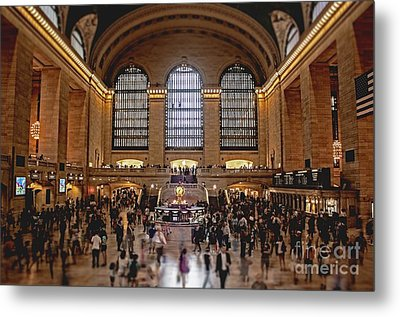 Grand Central Metal Print by Andrew Paranavitana