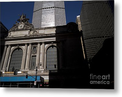 Grand Central In Evening Shadows Metal Print by David Bearden