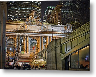 Grand Central Nocturnal Metal Print