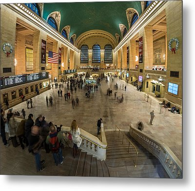 Metal Print featuring the photograph Grand Central Station by Steve Zimic