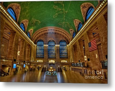 Grand Central Station Metal Print by Susan Candelario