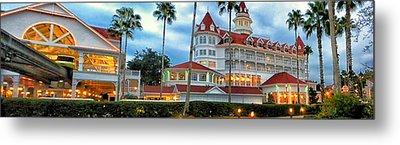 Grand Floridian Resort Walt Disney World Metal Print by Thomas Woolworth