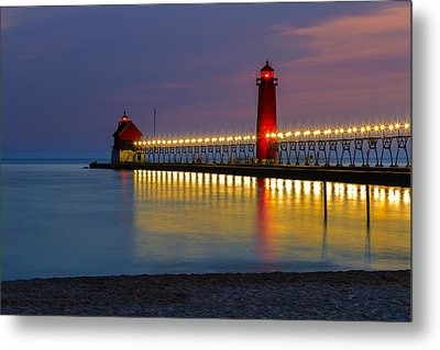 Grand Haven South Pier Lighthouse Metal Print