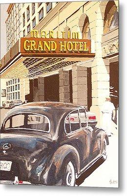 Grand Hotel East Berlin Germany Metal Print by Paul Guyer