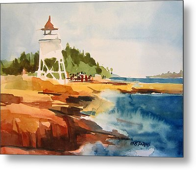 Grand Marais Metal Print by Kris Parins