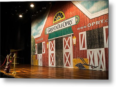 Grand Ole Opry Metal Print by Glenn DiPaola