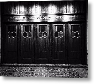 Grand Ole Opry House Metal Print by Dan Sproul