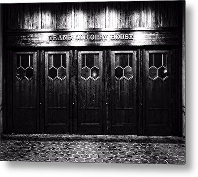 Grand Ole Opry House Metal Print