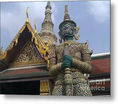 Grand Palace Thailand Metal Print by Ted Williams