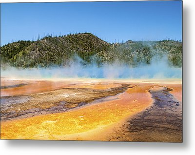 Grand Prismatic Spring - Yellowstone National Park Metal Print by Brian Harig