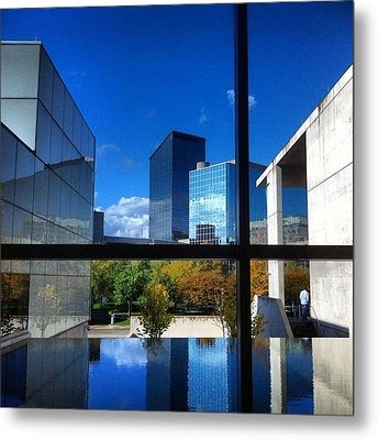 Metal Print featuring the photograph Grand Rapids Museum Of Art by Toni Martsoukos