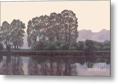Grand River Sentinels Metal Print by Michael Swanson