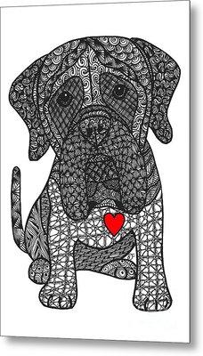 Grandeur - Mastiff Metal Print