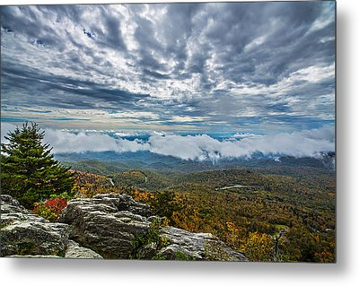 Grandfather Mountain Metal Print by John Haldane
