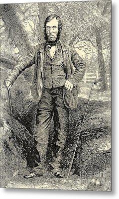Grandfather Of Golf Alan Robertson Metal Print by Marvin Blaine