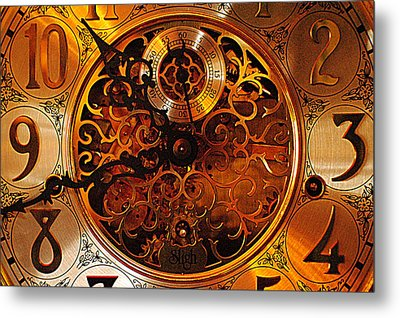 Grandfather Time Metal Print