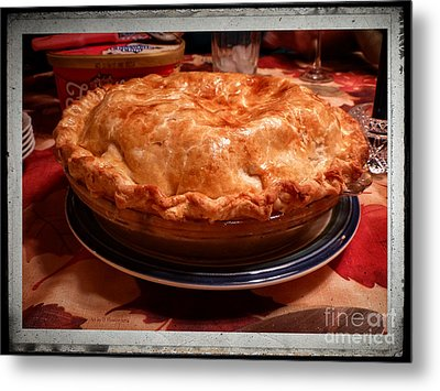 Grandma's Best Apple Pie Metal Print