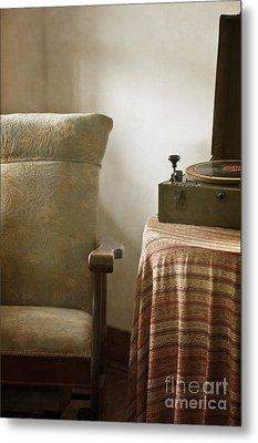 Grandma's Chair Metal Print by Margie Hurwich