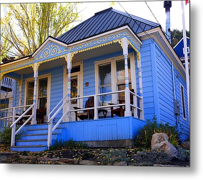 Metal Print featuring the photograph Grandma's House by Jackie Carpenter