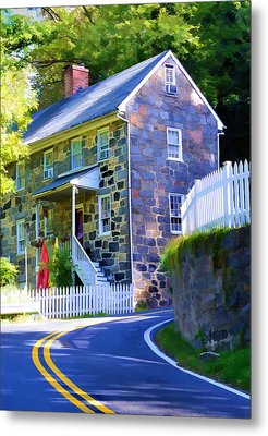 Granite Hill Metal Print