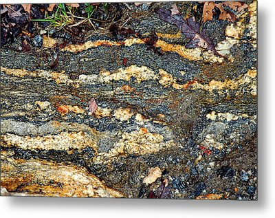 Metal Print featuring the photograph Granite Trail by Allen Carroll