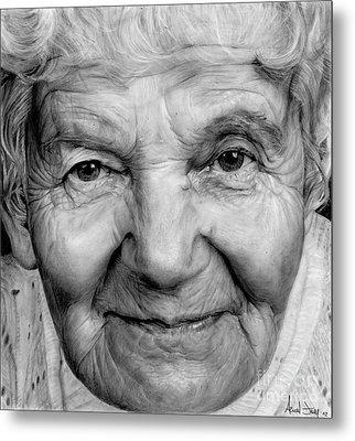 Grannies 12#03 Metal Print by Arual Jay