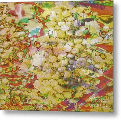 Grape Abundance Metal Print by PainterArtist FIN