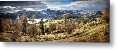 Grasmere Lake District National Park Metal Print