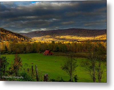 Grassy Cove Tennessee Metal Print by Paul Herrmann