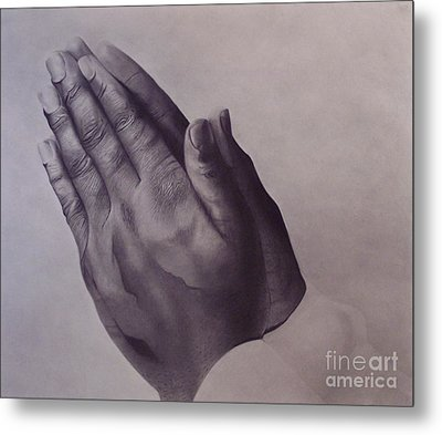 Grateful One Metal Print by Wil Golden