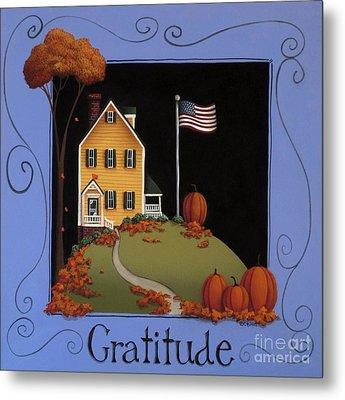 Gratitude Metal Print by Catherine Holman