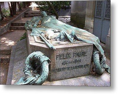 Grave Of Felix Faure  Metal Print
