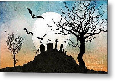 Graveyard Hill Metal Print