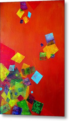Gravity Is Only A Theory Metal Print by Jim Whalen