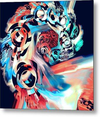 Gravity Well Metal Print by Anastasiya Malakhova