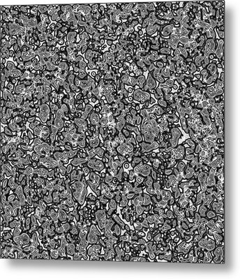 Gray #1 Metal Print by George Curington